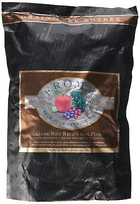 Fromm Four Star Grain Free Dry Dog Food, Game Bird Recipe, 4-Pound FREE SHIPPING