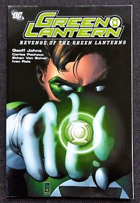 Revenge of the Green Lanterns by Geoff Johns, Carlos Pacheco, Ethan Van Sciver