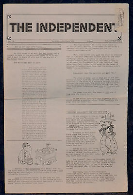 Rare VINTAGE Newspaper !!THE INDEPENDENT !! NOV-DEC 1972 (Issue: 196) NEW YORK