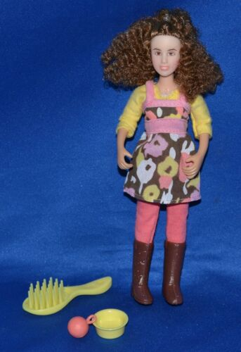 Breyer~Classic Pet Sitter~Girl Doll & Accessories~LOOK!