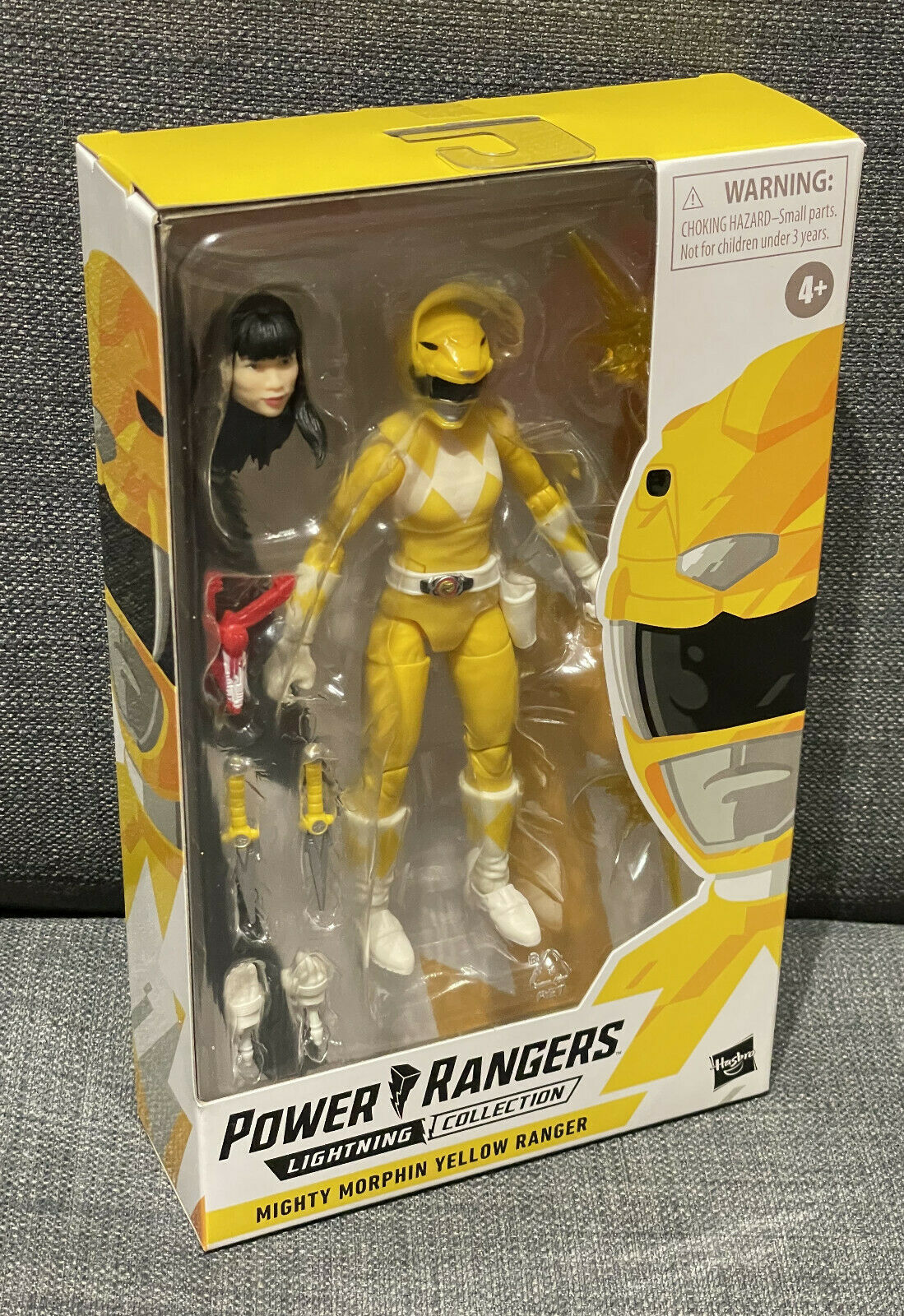 Power Rangers Mighty Morphin Yellow Ranger | Lightning Collection, Trini | NEU