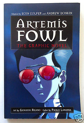 Artemis Fowl Graphic Novel By Eoin Colfer With Mug Shots Of Criminals   Monsters