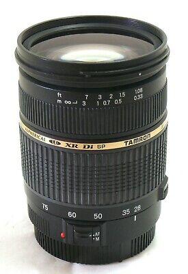 Tamron 28-75mm f/2.8 LD XR Di SP AF (IF) Aspherical lens Canon EF EOS MINT-  segunda mano  Embacar hacia Argentina