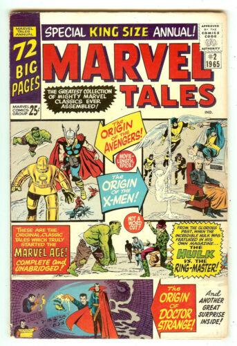 Marvel Tales 2   X-Men   Hulk   Avengers   72 Pages