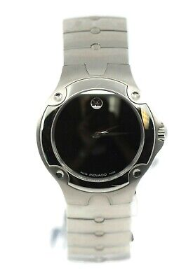 Movado Sports Edition Stainless Steel Watch 84-G1-1892