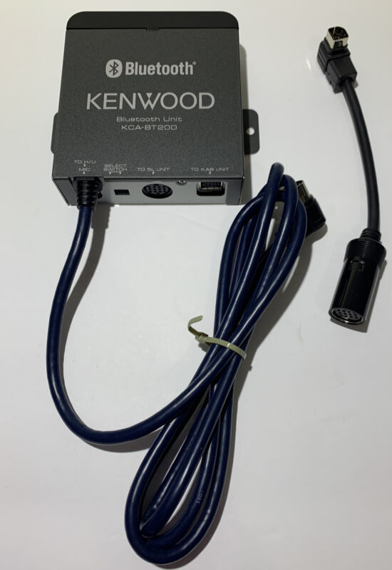 Kenwood KCA-BT200 Bluetooth Unit Module