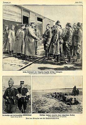 Kämpfe um die Tschataldschline ( Balkankrieg ) Historische Aufnahmen von 1912