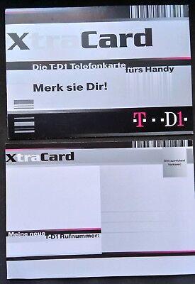 12 x Postkarten. XtraCard Meine neue Rufnummer T-D1, gebraucht gebraucht kaufen  Straubing