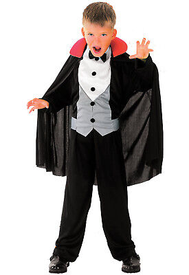 4-6 Jahre Vampir Kostüm Kinder Drakula Dracula Kinderkostüm Halloween JUNGEN (Dracula Kostüm Kinder)