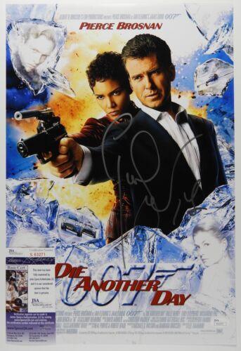Pierce Brosnan James Bond 007 JSA 12 x18 Autograph Signed Photo Die Another Day