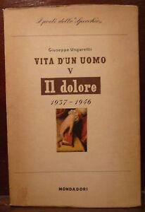 Poesia g ungaretti il dolore 1947 mondadori 1a ed vita - Poesia lo specchio ...