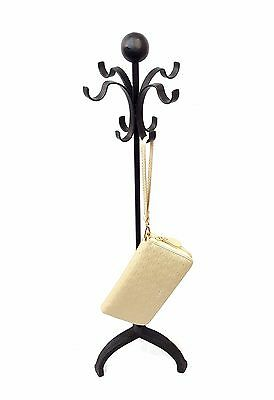 New 4 Hook Rotating Heavy Duty Handbag Purse Stand Necklace Display Rack 40297