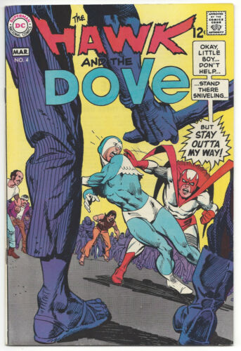 The Hawk and the Dove #4 (VF/NM) 1969