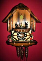Vintage Classic Musical SCHMECKENBECHER Cuckoo clock #78