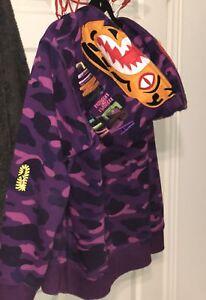 Bape camo tiger hoodie