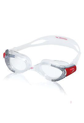 Speedo Futura Biofuse Swim Swimming Anti-Fog Performance Speedfit Goggles, Clear