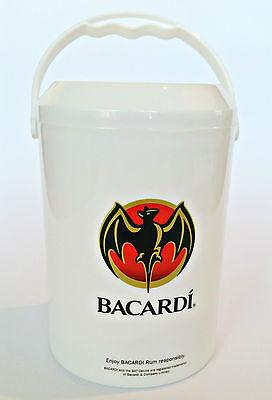 BACARDI Eiswürfelbehälter ICE BOX Deko Kleiner Eimer *NEU* Geschenk