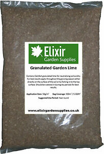 Garden Lime | Calcium Carbonate | For Club Root and Acid & Clay Soil | 1KG