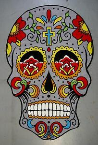 New Mexico Sugar Skull Day Of The Dead Floor Rugs Mats Home Decor Melbourne CBD Melbourne City Preview