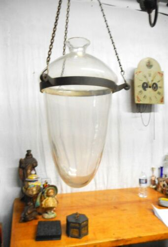 Org. Antique Hanging Glass Apothecary Globe for Pharmacy Window Advertising