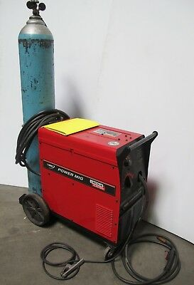 Lincoln Electric Power Mig 200 Welder Wire Feeder