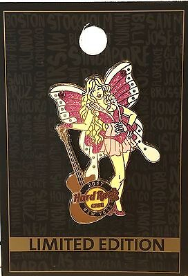 Hard Rock Cafe New York Pin Diva Fairy Series #4 2017 LE NEW Pin # 93881