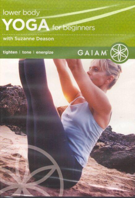 Lower Body Yoga for Beginners (DVD, 2005)