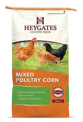 Heygates Mixed Poultry Corn Wheat & Cut Maize Chicken 20kg Feed (MMCS)