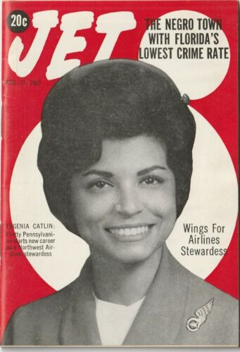VTG 1963 Jet Magazine Civil Rights Era Equality Black History Negro Town Crime