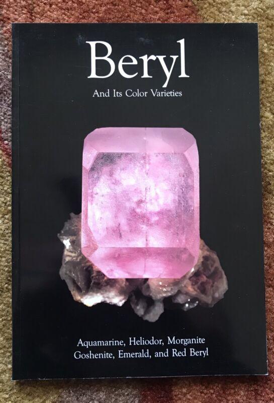 BERYL AND ITS COLOR VARIETIES, Extra Lapis English No. 7, 2005,  New!