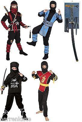 Ninja Kostüm Ninjakostüm Dragon Schwert American Samurai Krieger Kämpfer Soldat (Schwert Kämpfer Kostüm)