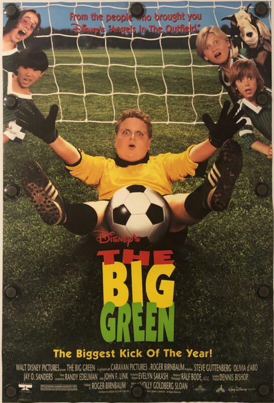 THE BIG GREEN Original One Sheet DS/Rolled Movie Poster - 1995 - WALT DISNEY