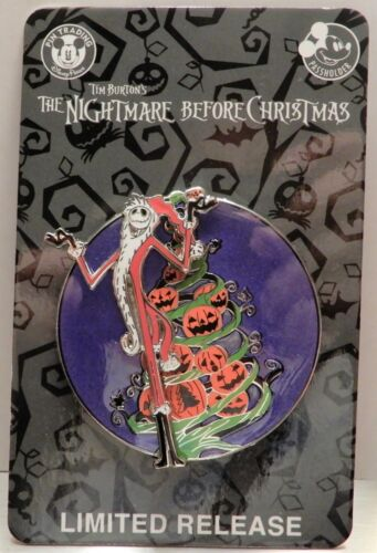 Disney Pin - Nightmare Before Christmas - Jack Skellington  - Limited Release