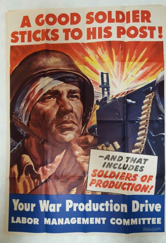 WWII Production Poster