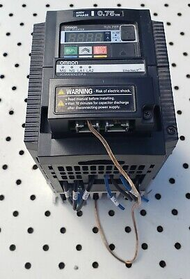 Omron 3g3mx2-a4007-v1 .75kw Mx2 Inverter 3 Phase W 3g3ax-mx2-eip-a Ethernet Opt