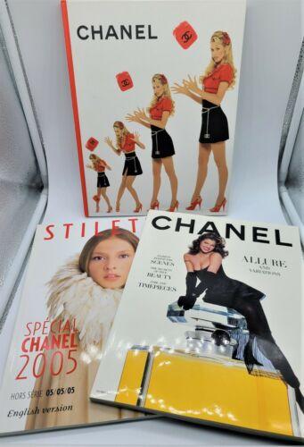 3 pcs of Chanel Ephemera  1x Hard Cover
