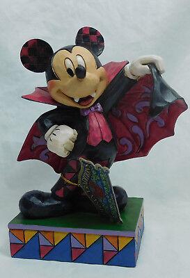 Disney Enesco Jim Shore Traditions 6000950 Mickey Vampire Halloween