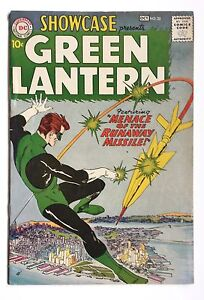 Showcase 22 Origin & 1st Hal Jordan as Green Lantern Comic