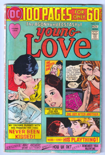 YOUNG LOVE 112 (1974) DC 100-Page Spectacular; VG 4.0