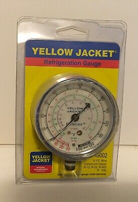 Yellow Jacket Gauge Refrigeration Gauge Hvac