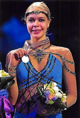 Anna POGORILAYA  - RUS- Eiskunstlauf - Foto sig. (2)