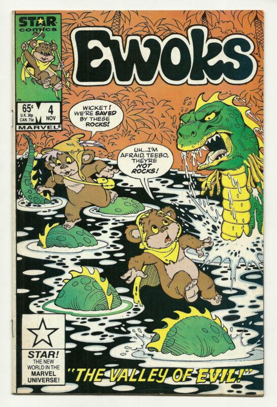 Ewoks #4 Fine Star Wars
