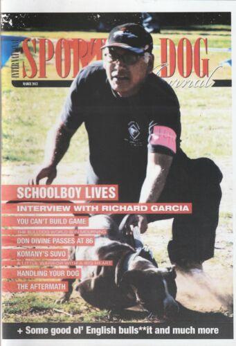 Sporting Dog Magazine SDJ pitbull gamedog book