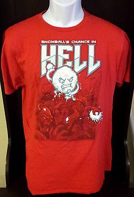 Snowballs Chance In Hell T Shirt Tee Mens Size Large By Shirt Woot