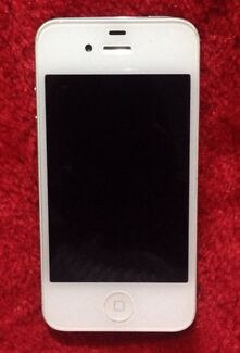 White iPhone 4 16GB Winston Hills Parramatta Area Preview