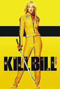 Kill Bill Volume 1  Action Movie Posters Wall chart - A3 size - film- cinema