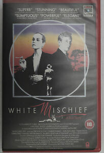 PRL-VIDEOCASSETTA-VHS-CASSETTE-WHITE-MISCHIEF-COLUMBIA-PICTURES-NELSON