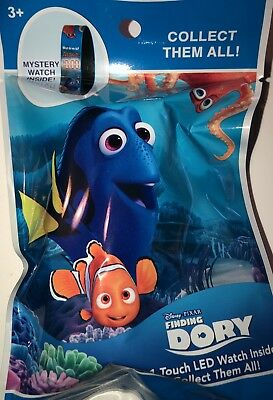 GREAT PARTY GIVEAWAY! DISNEY PIXAR FINDING DORY 1 TOUCH LED MYSTERY WATCH AGE 3+](Led Giveaways)