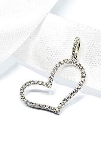 18ct White Gold Diamond Pendant Revesby Bankstown Area Preview