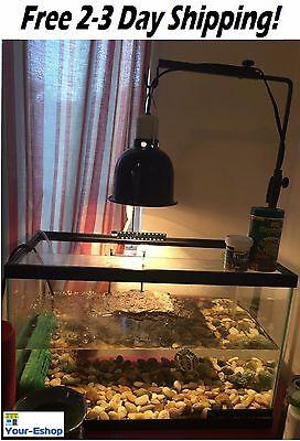 Dome Reptile Lizard Pet Lamp 5.5 Inch Deep Heat Light Base Fixture 100 watt